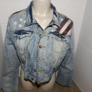 Vintage looking jean jacket